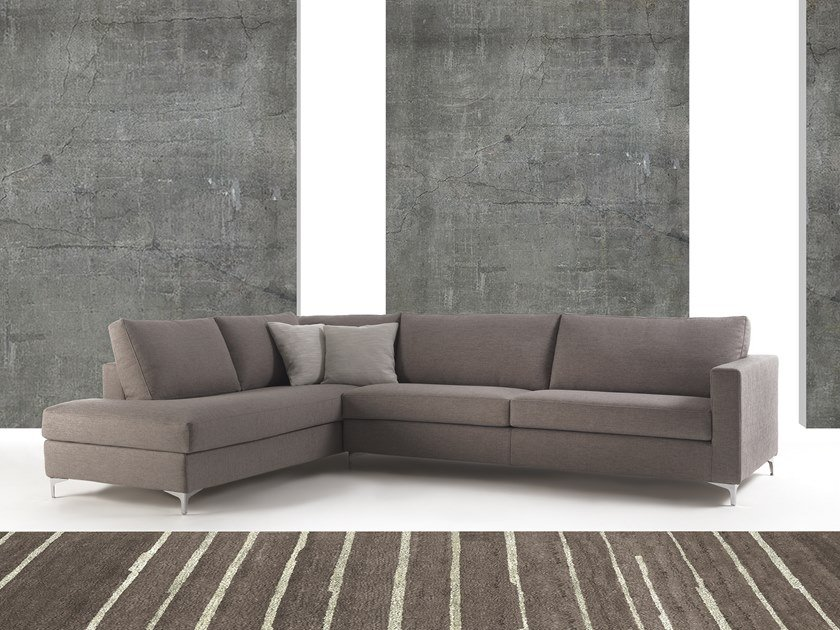 Corner fabric sofa ISCHIA | Corner sofa by Flexstyle
