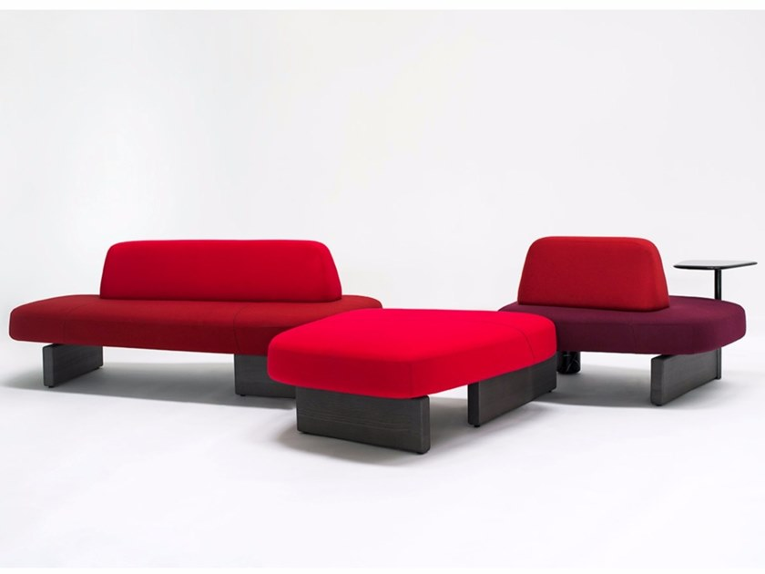 Sectional upholstered sofa ISCHIA by Tacchini