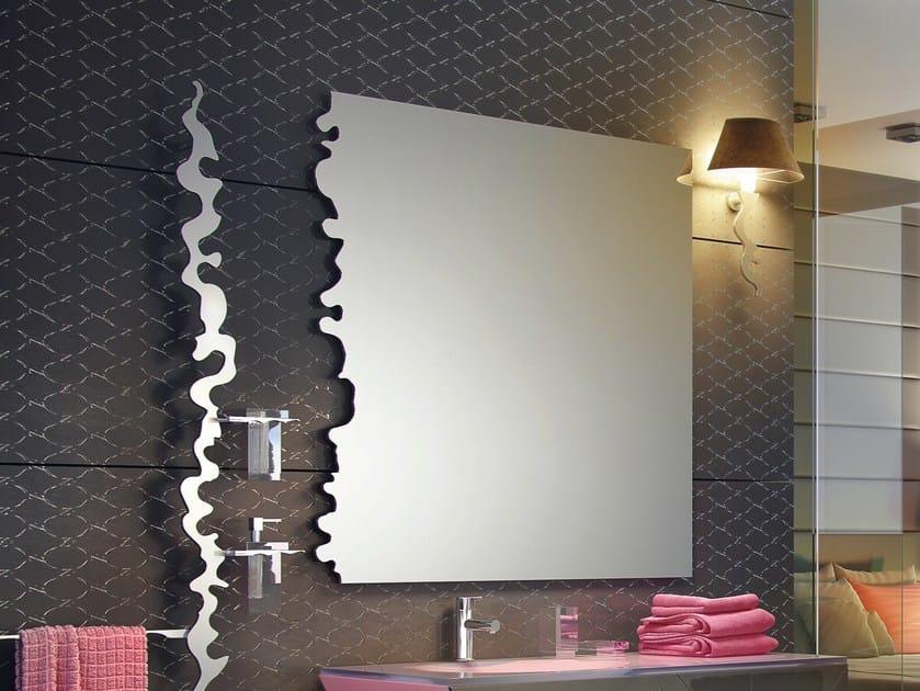 Specchio a parete per bagno ISIDO SET ONE   Specchio by LINEAG