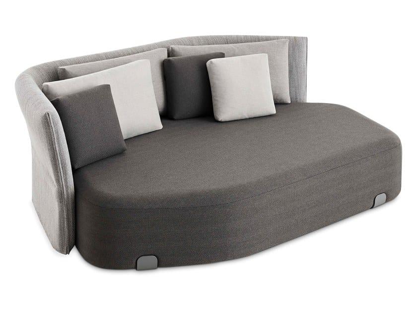3 seater technical fabric garden sofa ISLA GOMERA by GAN