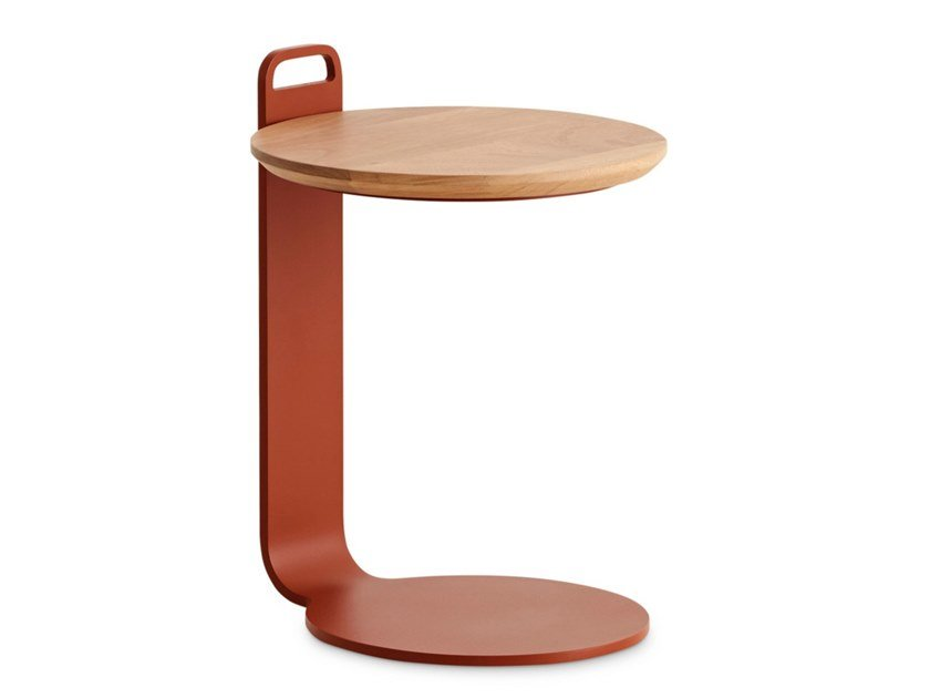 Round garden side table ISLA   Side table by GAN