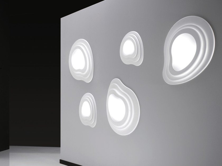 LED methacrylate wall light ISLAS | Wall light by NOIDESIGN