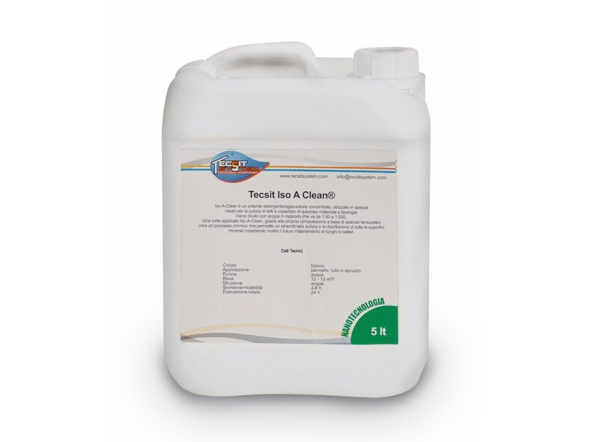 Surface cleaning product ISO A CLEAN by Tecsit System