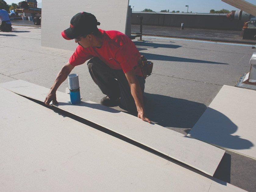 Polyiso foam thermal insulation panel ISOGARD™ HD by Firestone Building Products