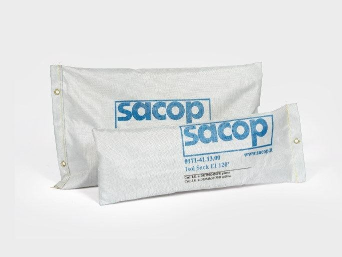 System to protect against fire penetration ISOL SACK EI 120' by S.A.CO.P