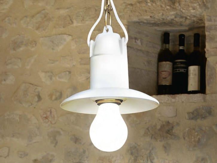 Ceramic pendant lamp ISOLA | Pendant lamp by Aldo Bernardi