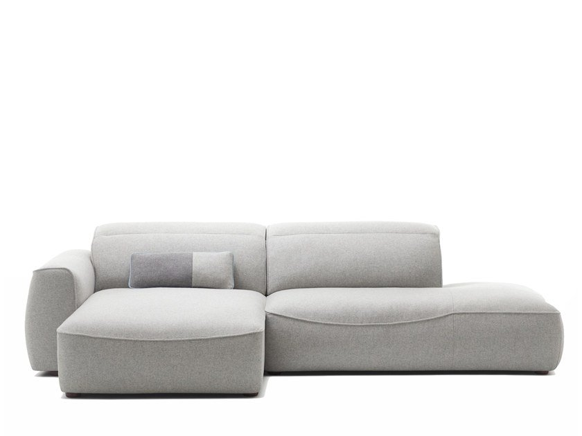 Sectional convertible fabric sofa ISOLA | Sofa by Extraform