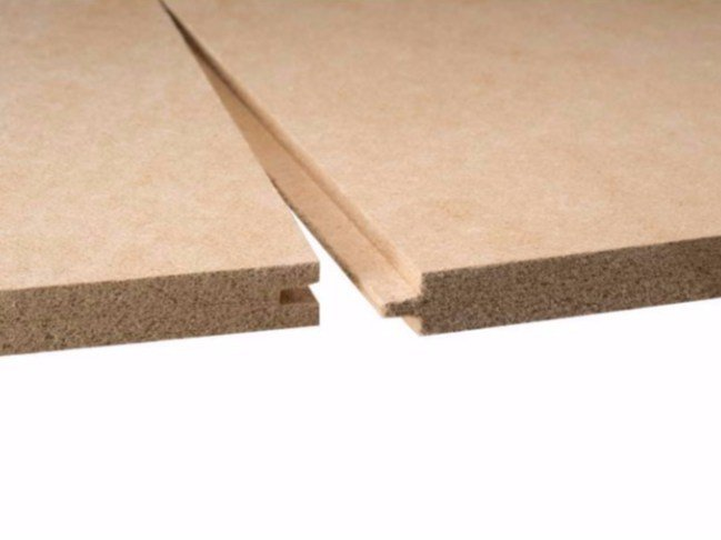 Wood fibre thermal insulation panel ISOLAIR 20 by Pavatex