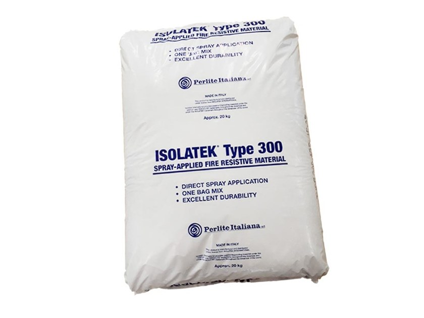 Fire-resistant plaster ISOLATEK® Type 300 by Perlite Italiana