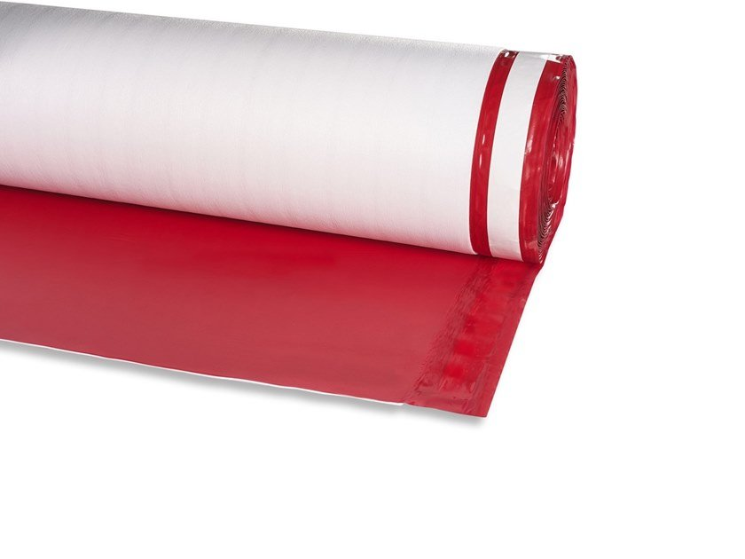 Impact insulation system ISOLDRUM HD RED by Isolmant