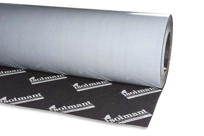 Impact insulation system isoldrum isoltile by isolmant