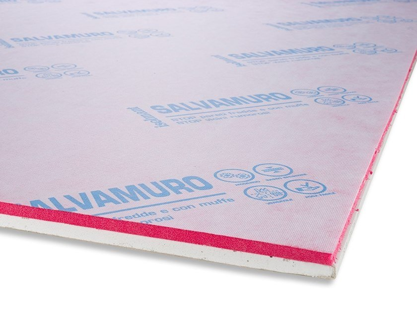 Soundproofing panel for vertical dividers ISOLGYPSUM SPECIAL by Isolmant
