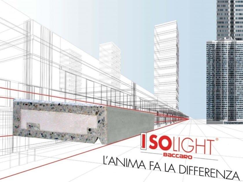 Davanzale in cemento ISOLIGHT® | Davanzale by BACCARO I CEMENTISTI