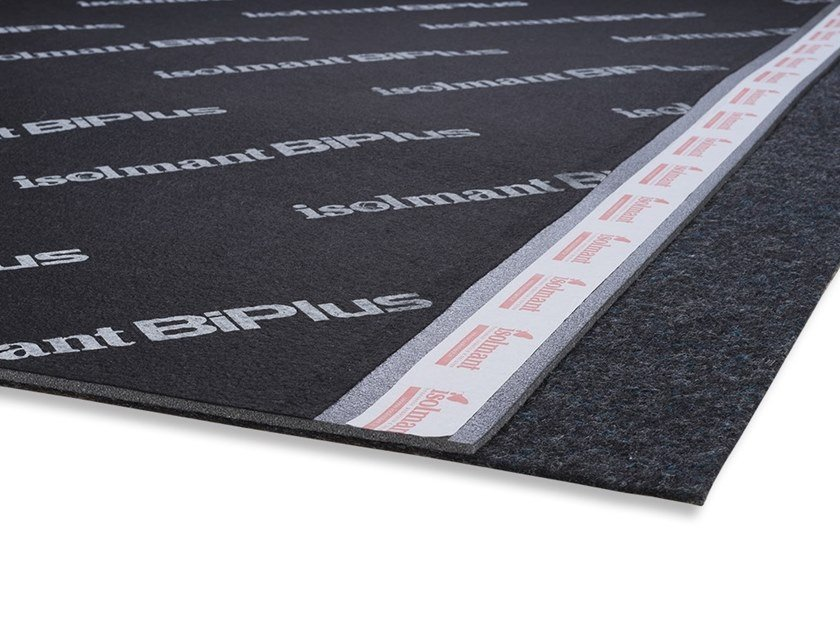 Underfloor noise insulation mat ISOLMANT BIPLUS by Isolmant