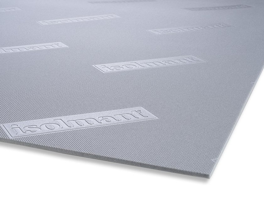 Sound insulation and sound absorbing felt in synthetic material ISOLMANT SPECIAL by Isolmant