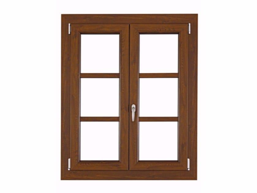 PVC top-hung window ISOLTEK by FOSSATI PVC