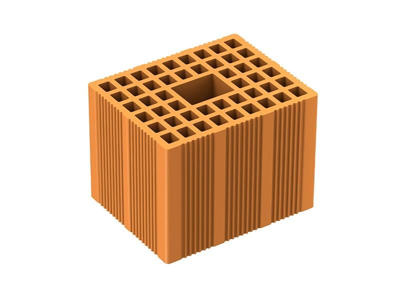 Loadbearing clay block ISOMURO by Fornaci Laterizi Danesi