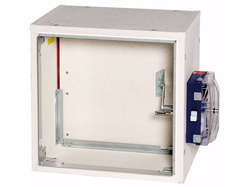 System to protect against fire penetration Rectangular ISONE 1500 by ALDES