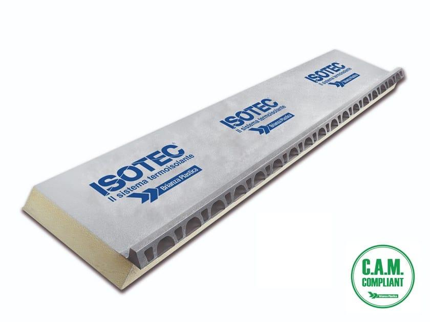 Polyurethane foam Ventilated roof system ISOTEC® by Brianza Plastica
