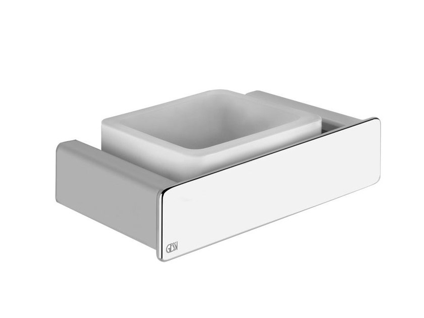 Wall-mounted soap dish ISPA ACCESSORIES 41602 by Gessi