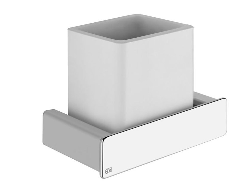 Toothbrush holder ISPA ACCESSORIES 41607 by Gessi