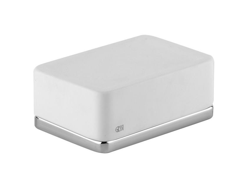 Countertop soap dish ISPA ACCESSORIES 41625 by Gessi
