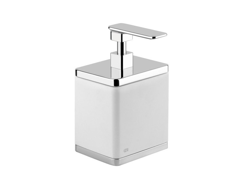 Countertop soap dish ISPA ACCESSORIES 41637 by Gessi