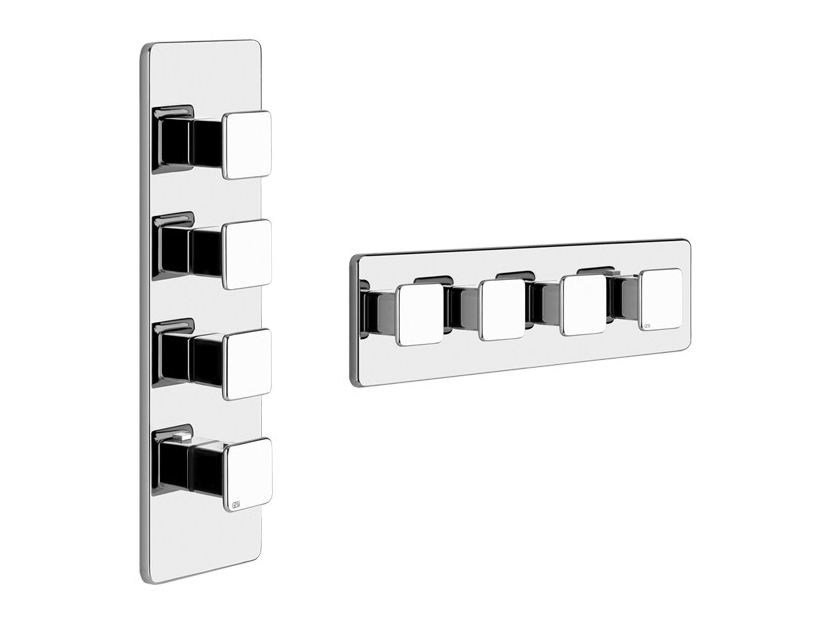 4 hole shower tap ISPA PRIVATE WELLNESS 41506 by Gessi