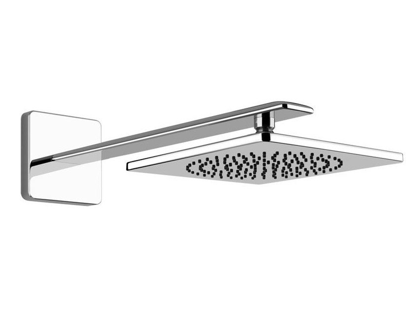 Wall-mounted overhead shower with arm ISPA SHOWER 41248 by Gessi