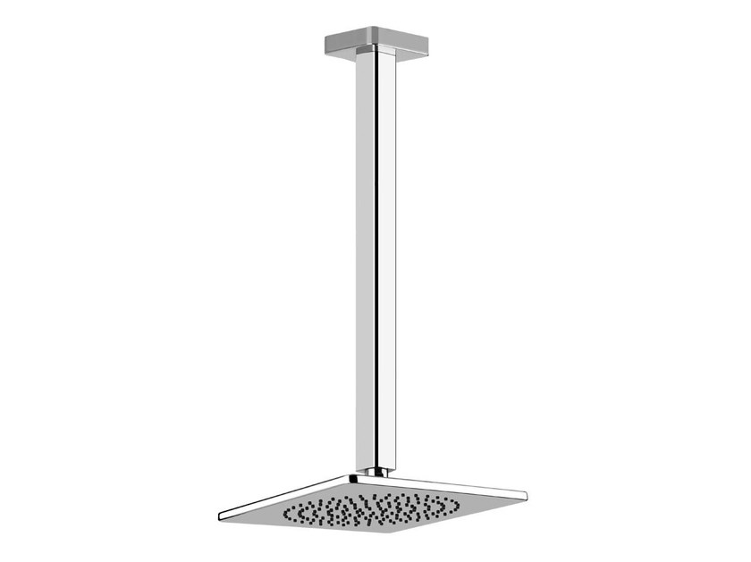 Ceiling mounted overhead shower with arm ISPA SHOWER 41250 by Gessi