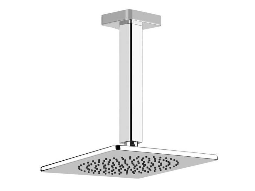 Ceiling mounted overhead shower with arm ISPA SHOWER 41252 by Gessi