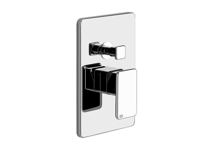 2 hole shower mixer with diverter ISPA SHOWER 44694 by Gessi