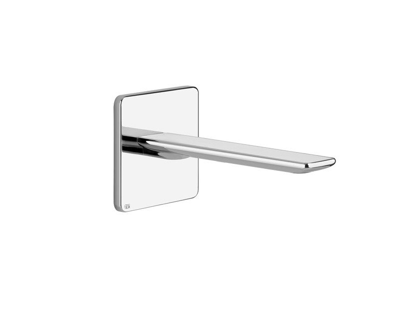 Wall-mounted spout ISPA WHITE 41300 by Gessi
