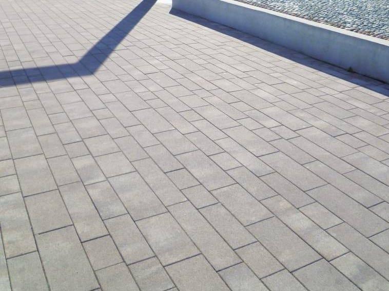 Concrete paving block ITACA - DIAMANTI by RECORD - BAGATTINI