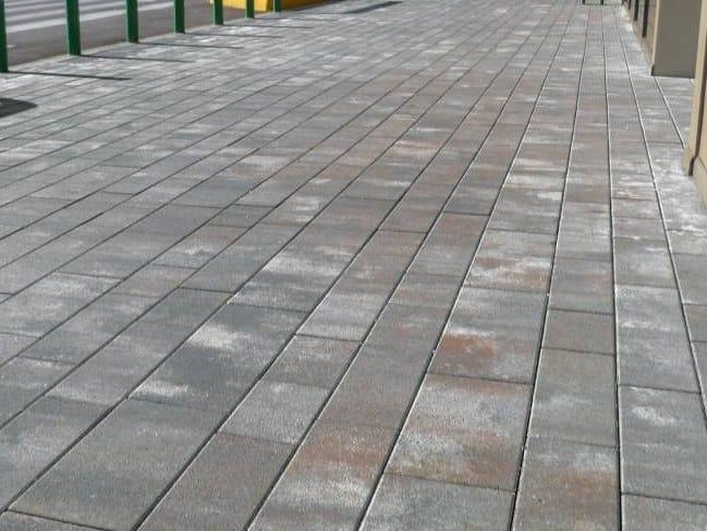 Concrete paving block ITACA - GRANITI by RECORD - BAGATTINI