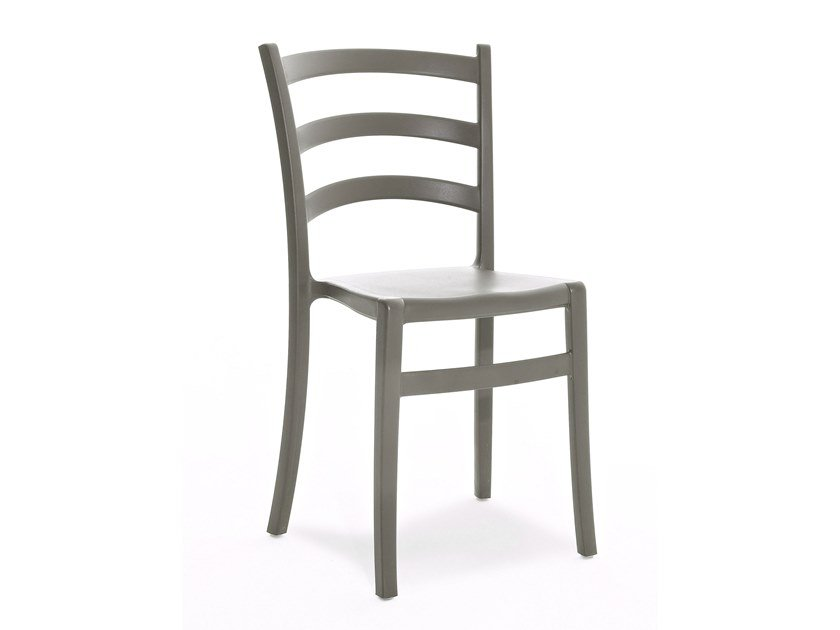 Polypropylene restaurant chair ITALIA 150 by Colico