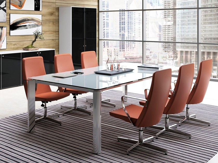 Glass Meeting tables | Archiproducts