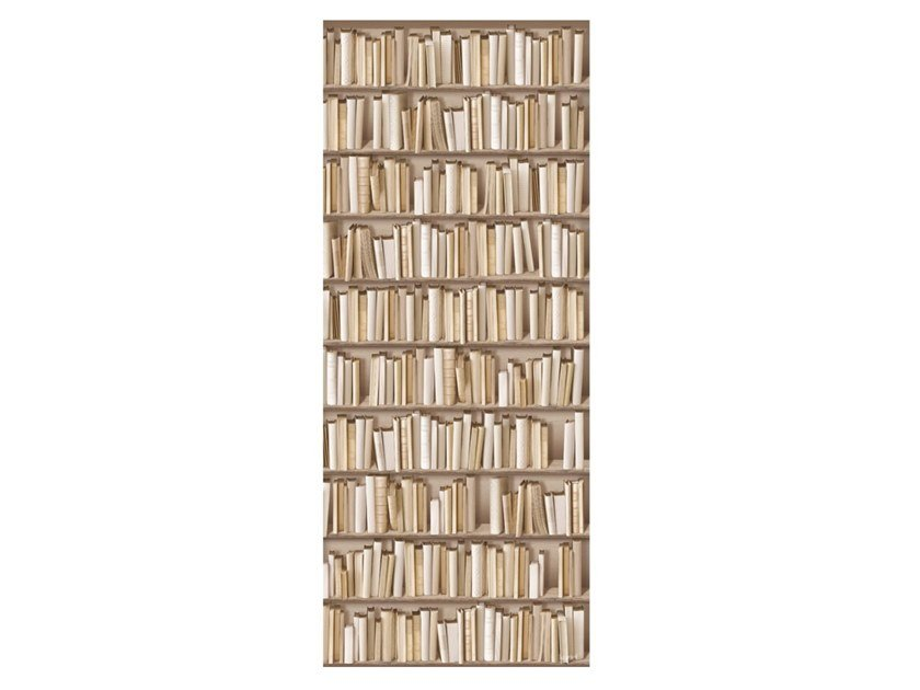 Arazzo in poliestere IVORY BOOKSHELVES by Koziel