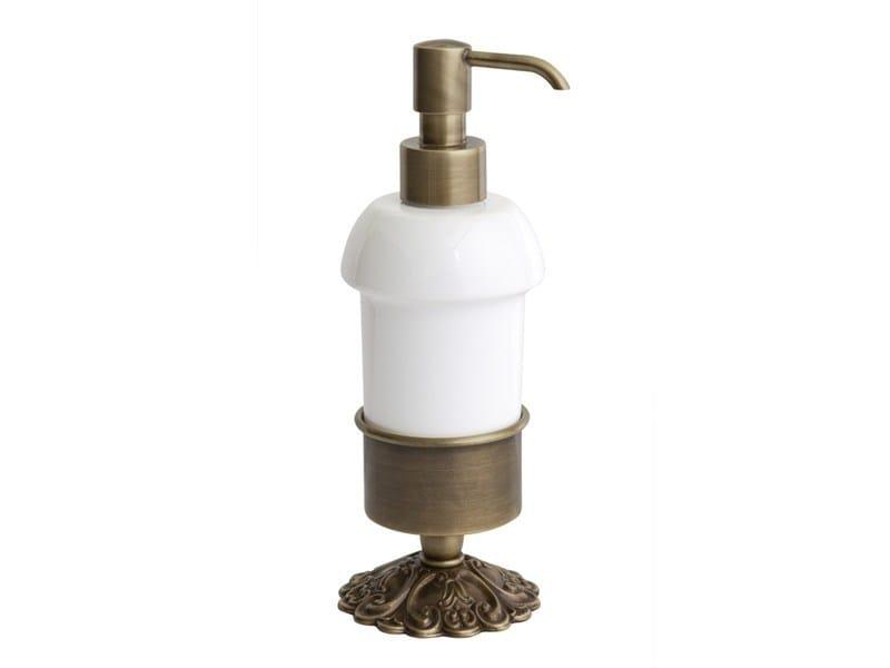 Ceramic liquid soap dispenser IVY | ceramic soap dispenser by GENTRY HOME
