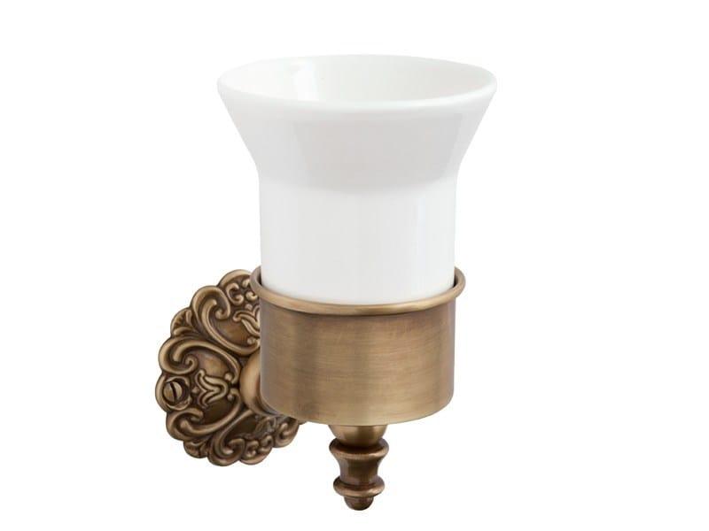 Ceramic toothbrush holder IVY |  tumbler holder by GENTRY HOME