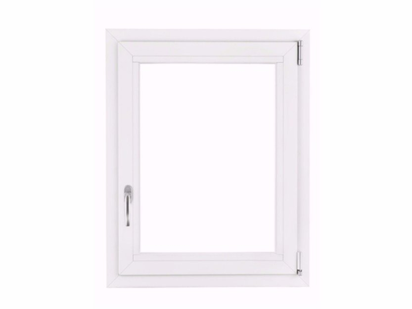 Aluminium top-hung window IWL by FOSSATI PVC