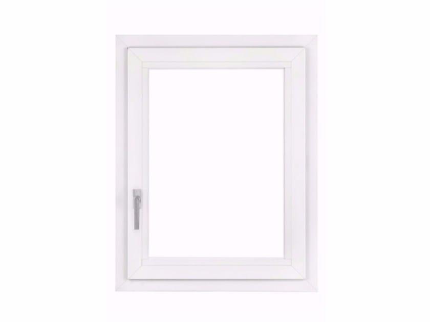Aluminium top-hung window IWL PLUS by FOSSATI PVC