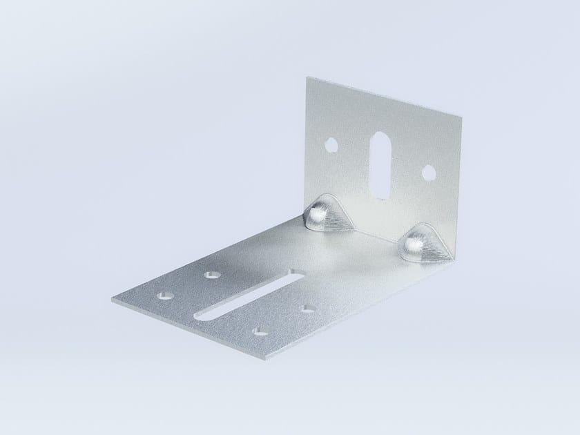 """Staffa ad """"L"""" ricavata da stampaggio di acciaio inox IX 120 by Anchoriv"""