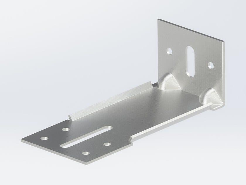 """Staffa ad """"L"""" ricavata da stampaggio di acciaio inox IX 180 by Anchoriv"""
