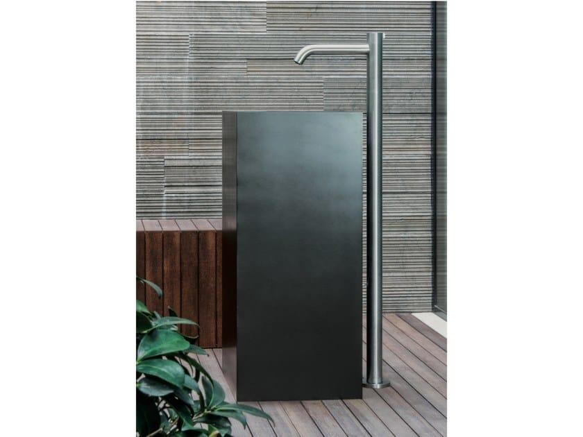Floor standing stainless steel washbasin mixer IX | Floor standing washbasin mixer by CRISTINA