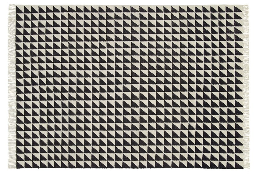 Rectangular rug with geometric shapes IZA by e15