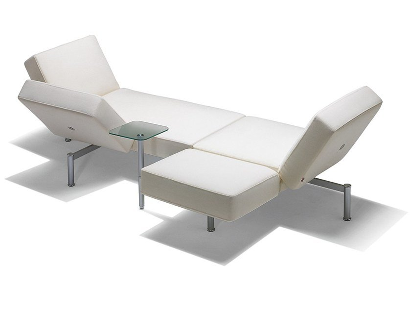 Fabric sofa / day bed IKS - IPS by Felicerossi