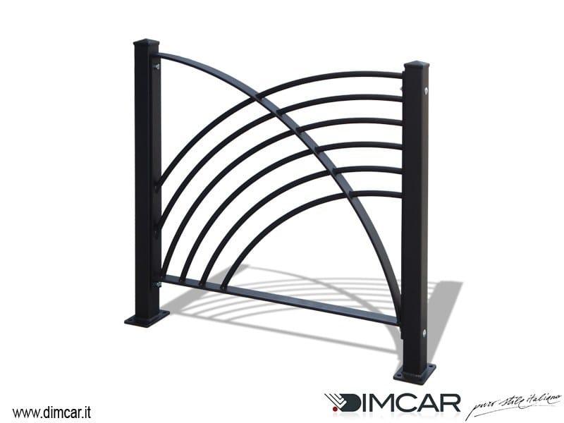 Galvanized steel pedestrian barrier Recinzione Imperia by DIMCAR
