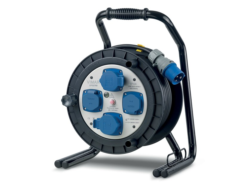 Electrical wire and cable Industriale cable reel by VIMAR