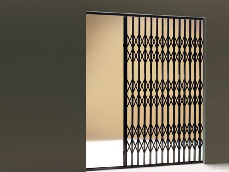 Sliding steel security bar Security bar by DE NARDI